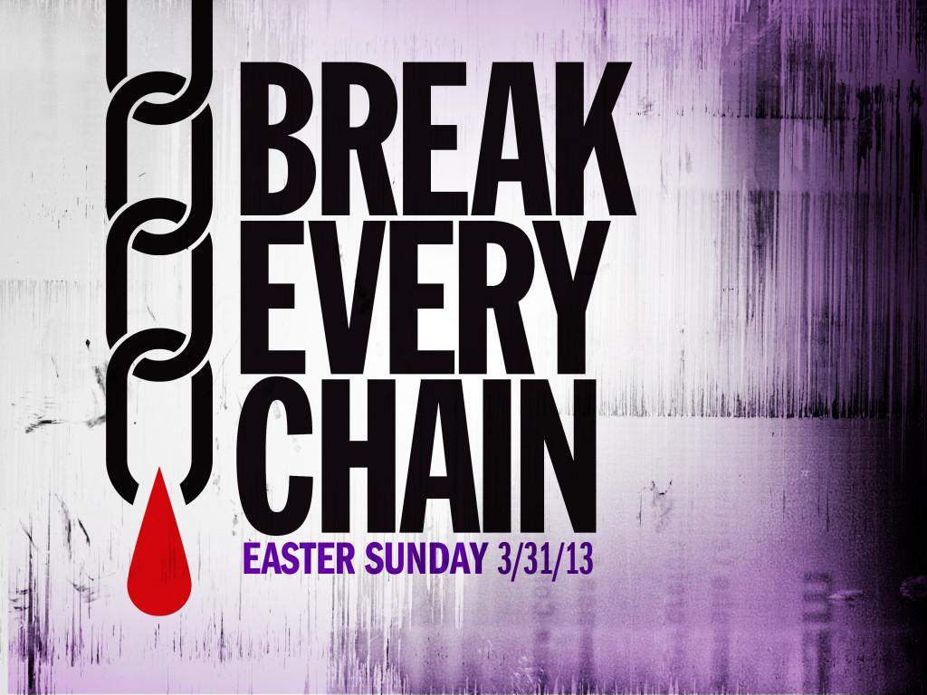 Break Every Chain - Easter Series Artwork